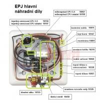 náhradní díly EPJ