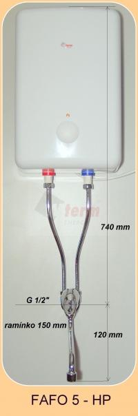 FAFO 5 HP  rozměry