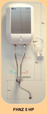 FHNZ 5 HP s rozměry