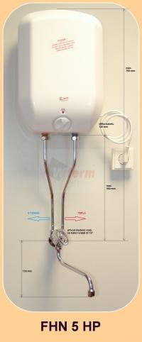 FHN 5 HP s rozměry