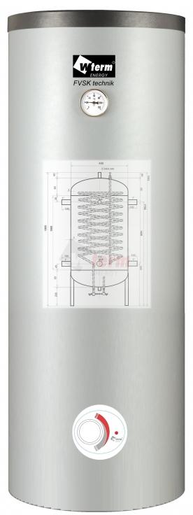 akumulační nádrž s namontovaným topným modulem T3
