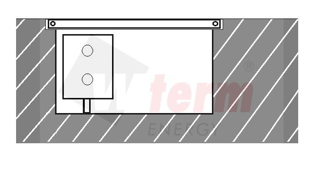 Podlahový konvektor bez ventilátoru